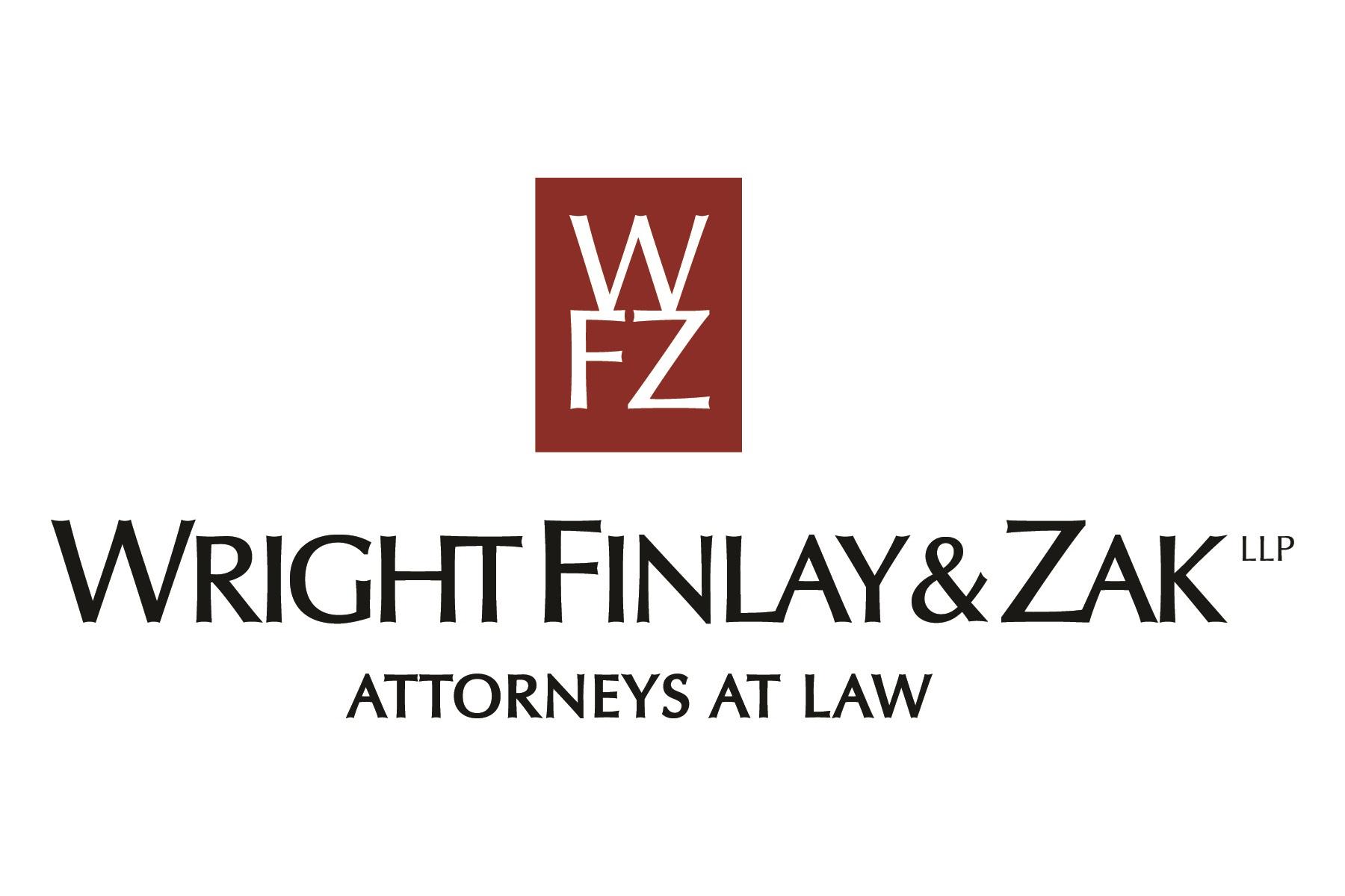 Wright, Finlay & Zak Logo
