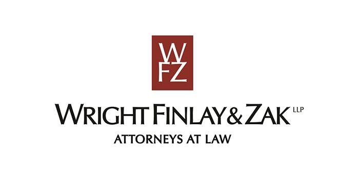 Wright Finlay & Zak logo